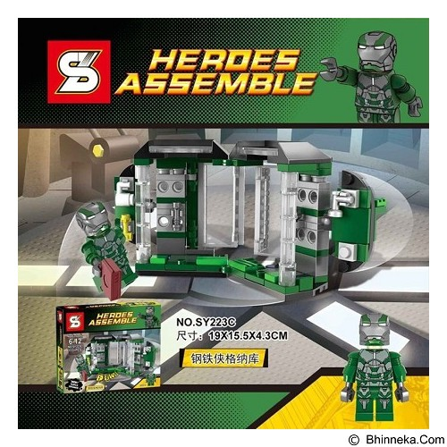 SY Bricks 223 C Ironman [305002527] (Merchant) - Building Set Movie