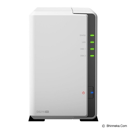 SYNOLOGY NAS 2Bay Diskstation 8TB [DS216SE] - Nas Storage Tower