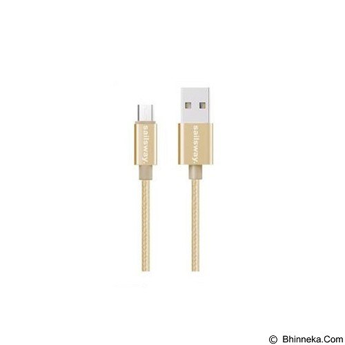 Sailsway Micro USB Quick Cable 100CM [SWL03-1] - Gold (Merchant) - Cable / Connector Usb