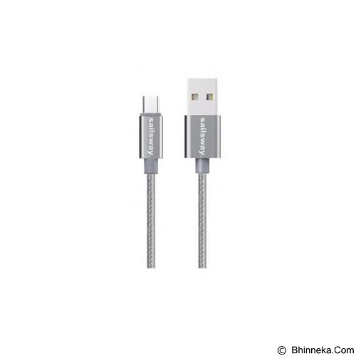 Sailsway Micro USB Quick Cable 100CM [SWL03-1] - Grey (Merchant) - Cable / Connector Usb