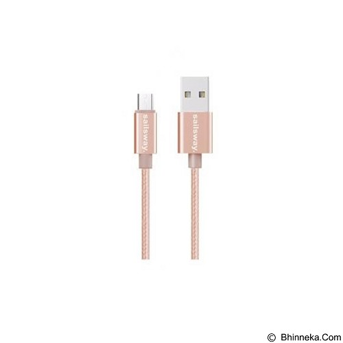 Sailsway Micro USB Quick Cable 100CM [SWL03-1] - Pink (Merchant) - Cable / Connector Usb