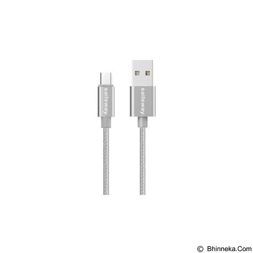 Sailsway Micro USB Quick Cable 100CM [SWL03-1] - White (Merchant) - Cable / Connector Usb