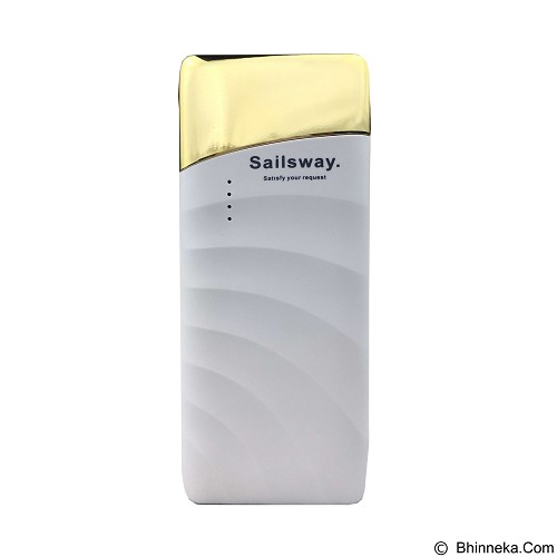 Sailsway Power Bank 10000mAh [SWP607] - Gold (Merchant) - Portable Charger / Power Bank