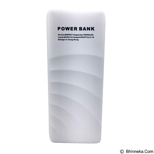 Sailsway Powerbank 10000mAh [SWP607] - White Gold - Portable Charger / Power Bank