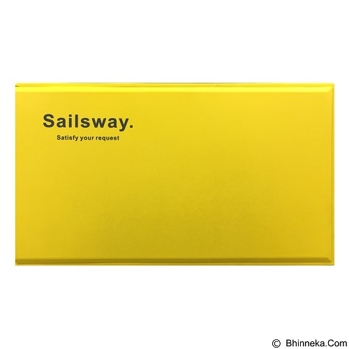 Sailsway Powerbank 4000mAh [SWP601] - Yellow - Portable Charger / Power Bank