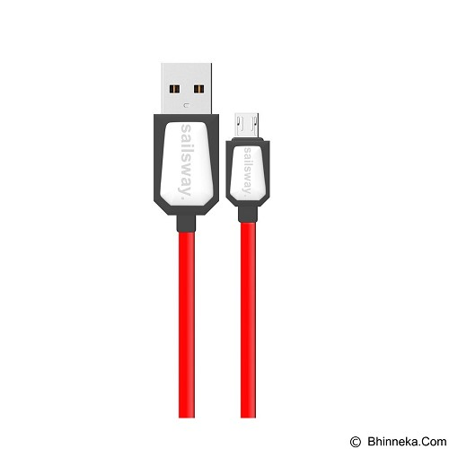 Sailsway Quick Cable 200CM [SWL05] - Red (Merchant) - Cable / Connector Usb