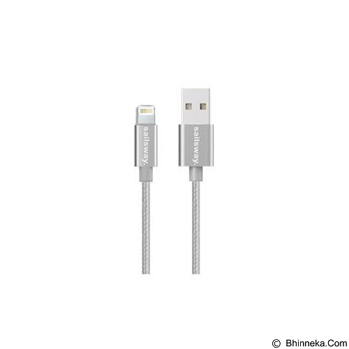 Sailsway Quick Cable USB for Apple iPhone 100CM [SWL03-2] - White (Merchant) - Cable / Connector Usb