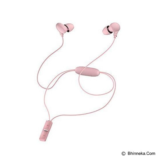 Syllable Necklace Running Wireless Bluetooth Earbuds [A6] - Pink (Merchant) - Headset Bluetooth