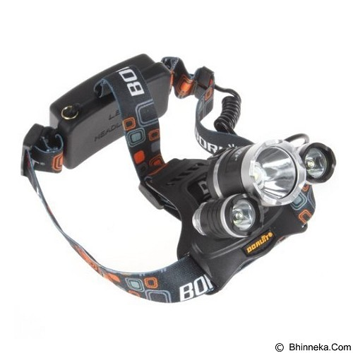 T6 High Power Headlamp Cree XM-L T6 5000 Lumens (Merchant) - Senter / Lantern