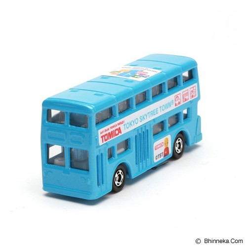 TAKARA TOMY Tomica Tomica Skytree Town Bus [T4904810485209] - Blue - Die Cast