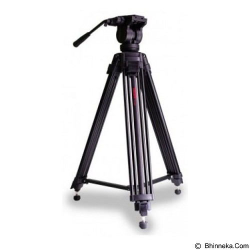 TAKARA Video Pro Tripod [VD2500] - Tripod Combo With Head