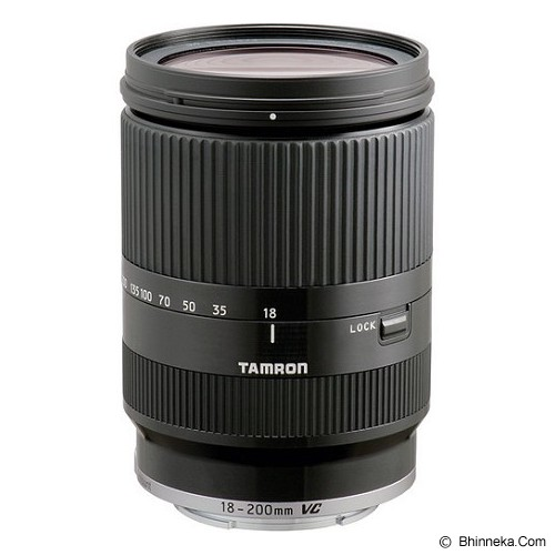 TAMRON 18-200mm f/3.5-6.3 Di III VC for EOS M - Black - Camera Slr Lens