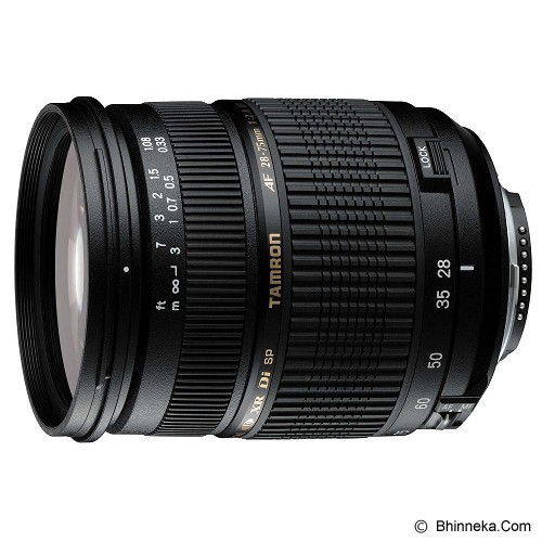 TAMRON SP AF 28-75mm F/2.8 XR Di LD Aspherical (IF) Macro for Sony - Camera Slr Lens