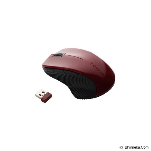 TARGUS Hot Keys Wireless Bluetrace Mouse [AMW07102AP] - Red - Mouse Basic