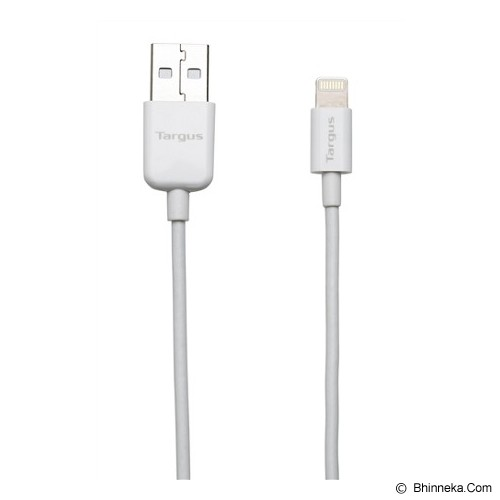TARGUS Sync & Charge Lightning Cable 1M [ACC96101AP-50] - White - Cable / Connector Usb