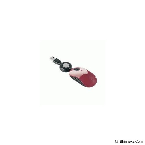 TARGUS U102 Compact BlueTrace Travel Wired Mouse [AMU10202AP-50] - Red - Mouse Mobile