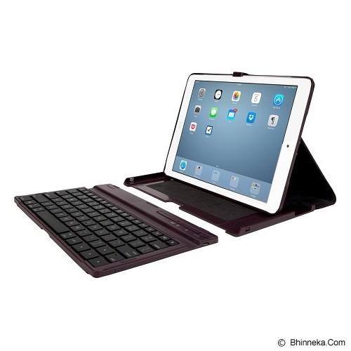 TARGUS Versavu Case with Keyboard for Apple iPad Air [THZ19201AP-50] - Black Cherry - Casing Tablet / Case