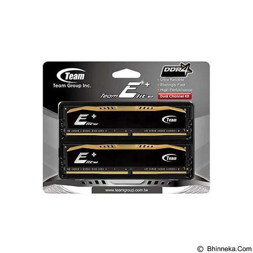 TEAM Elite+ Memory PC 16GB DDR4 PC4-19200 [TPD416GM2400HC16DC01] (Merchant) - Memory Desktop Ddr4