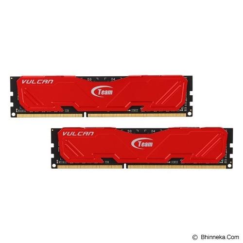 TEAM Vulcan Memory PC 2x 8GB DDR3 PC-12800 [TLRED316G1600HC9DC01] - Memory Desktop Ddr3