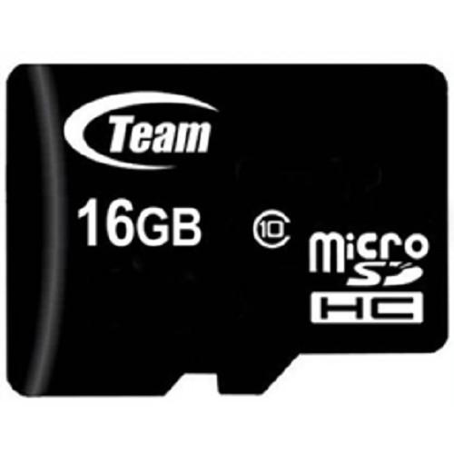 TEAM Micro SDHC 16GB - Class 10 - Micro Secure Digital / Micro SD Card