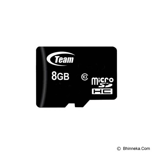 TEAM Micro SDHC 8GB - Class 10 - Micro Secure Digital / Micro Sd Card