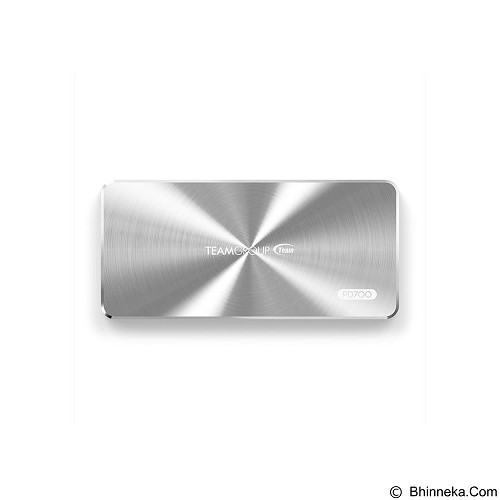 TEAM PD700 Portable SSD 480GB [T8FED7480GMC109] - Silver - Hard Disk External 2.5 Inch