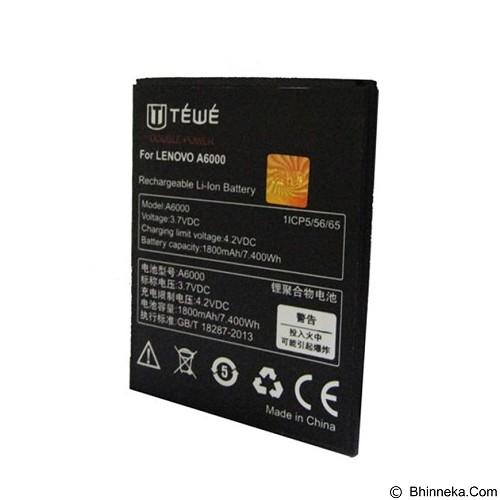 TEWE Battery for Lenovo A6000 1800mAh - Handphone Battery
