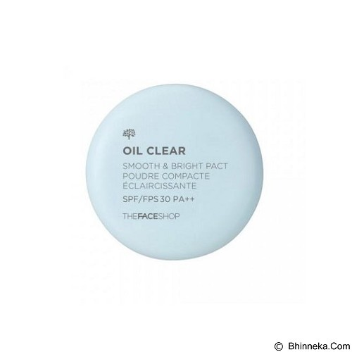 THE FACE SHOP Oil Clear Smooth & Bright Pact (Merchant) - Make-Up Powder