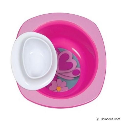 THE FIRST YEARS Dip It Bowl [Y4889] - Pink - Perlengkapan Makan dan Minum Bayi