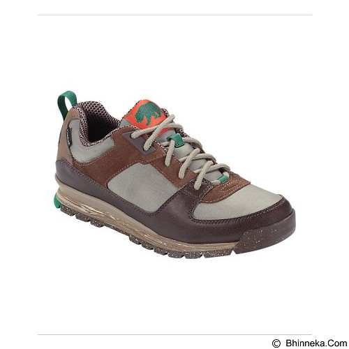 THE NORTH FACE Men's Back To Berkeley Cotton Canvas Sneaker Size 10 - Slate Black Brown (Merchant) - Sepatu Hiking & Trail Running Pria