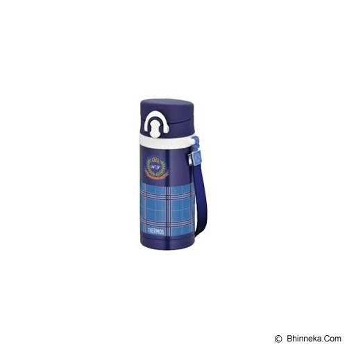 THERMOS Thermos 0.35 L Flask With Strap - Blue - Perlengkapan Makan dan Minum Bayi