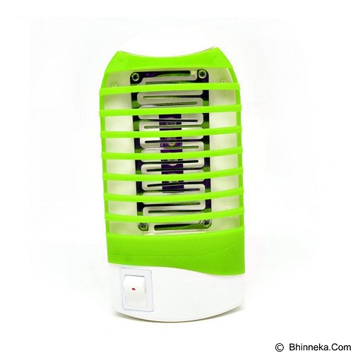 THREE HORSES Mosquito Killer Night Lamp 4 LED Sinar UV - Green (Merchant) - Pencegah Serangga Elektrik