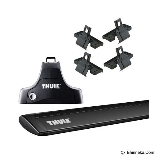 THULE Roof Rack Set 2 for Honda Accord 2008-2014 (Merchant) - Bagasi Mobil