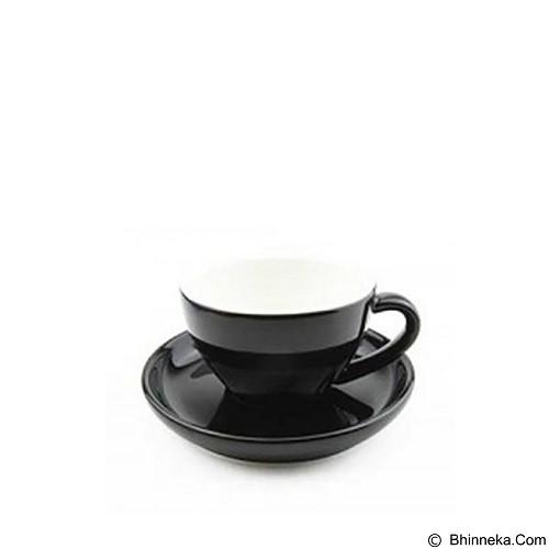 TIAMO Porcelain Cup 200 ml [YM2057] - Black (Merchant) - Gelas