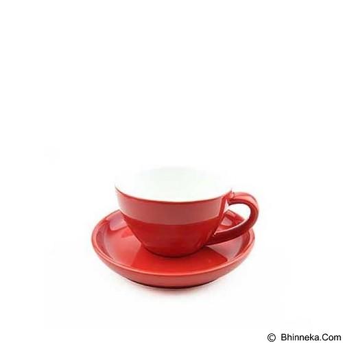 TIAMO Porcelain Cup 200 ml [YM2059] - Red (Merchant) - Gelas