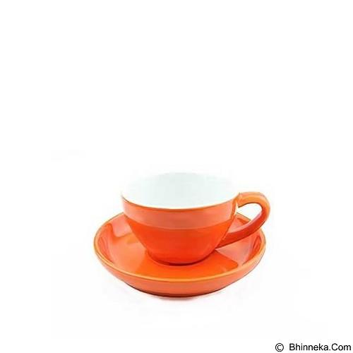 TIAMO Porcelain Cup 200 ml [YM2062] - Orange (Merchant) - Gelas