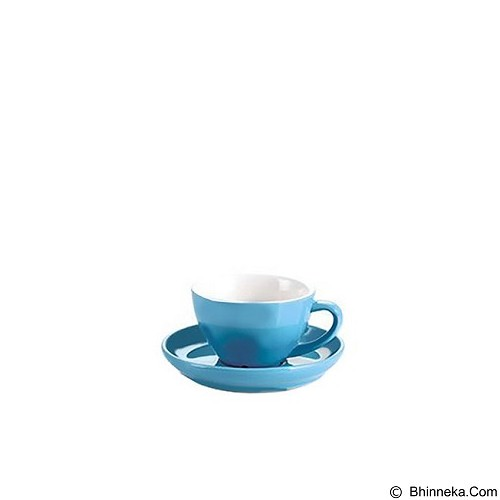 TIAMO Porcelain Cup 80 ml - Blue (Merchant) - Gelas