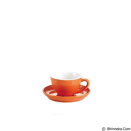 TIAMO Porcelain Cup 80 ml - Orange (Merchant) - Gelas