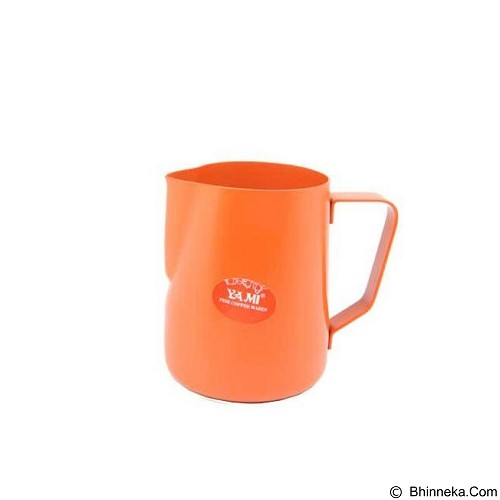 TIAMO Teflon Milk Jug 600 ml [YM6891] - Orange (Merchant) - Kendi / Pitcher / Jug