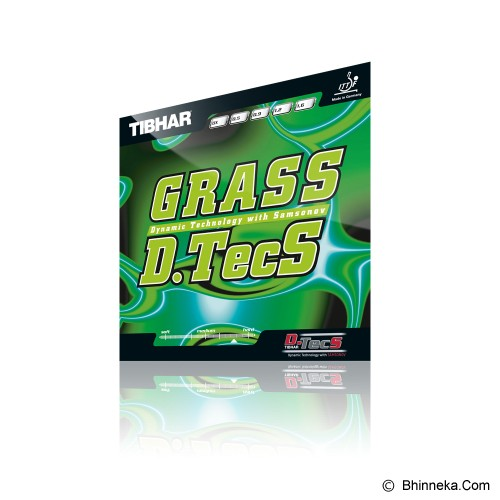 TIBHAR Grass D.Tecs 1.6mm - Red - Aksesoris Raket