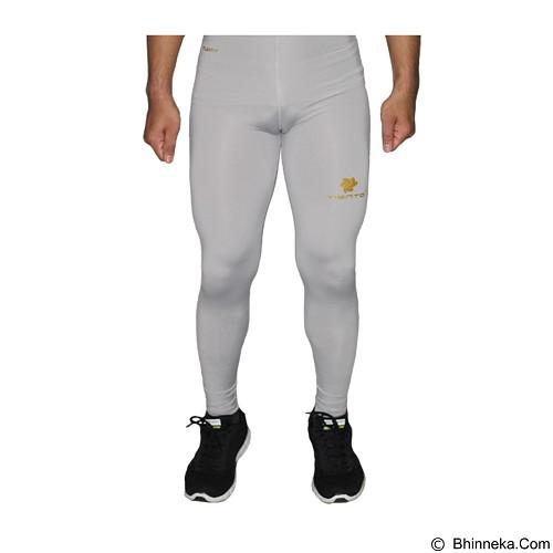 TIENTO Baselayer Manset Rash Guard Compression Long Pants Size L - Grey Gold (Merchant) - Celana Olahraga Pria