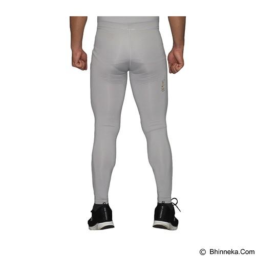 TIENTO Baselayer Manset Rash Guard Compression Long Pants Size S - Grey Gold (Merchant) - Celana Olahraga Pria