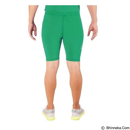 TIENTO Baselayer Manset Rashguard Compression Short Pants - Green Size XL (Merchant) - Celana Olahraga Pria