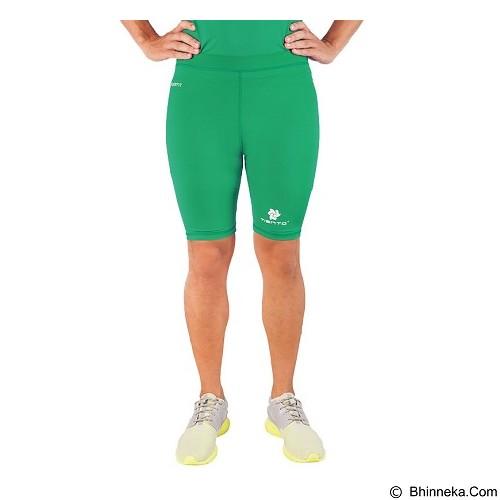 TIENTO Baselayer Manset Rashguard Compression Short Pants - Green Size XXL (Merchant) - Celana Olahraga Pria