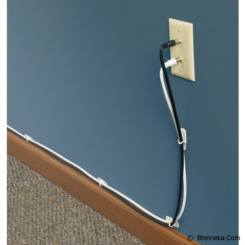 3M Command Medium Cord Clips - Cable Holder / Cable Tie