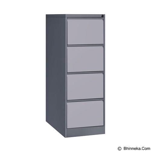 TIGER Filling Cabinet 4 Drawers [FC-D4 A] (Merchant) - Filing Cabinet / Lemari Arsip