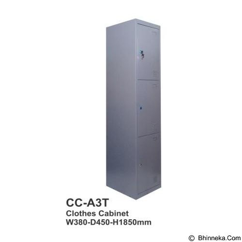 TIGER Locker [CC-A3T] - Filing Cabinet / Lemari Arsip
