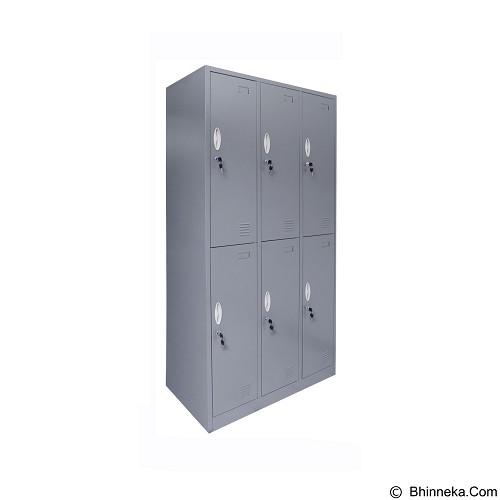 TIGER Locker [CC-C6T] (Merchant) - Filing Cabinet / Lemari Arsip