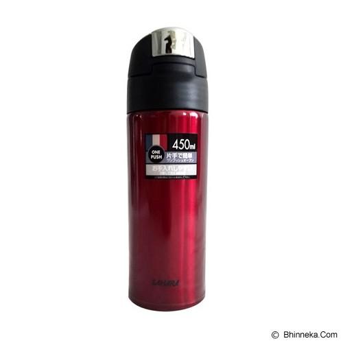 TIGER Vacuum Flask 450 ml [MMQA045] - Red - Botol Minum