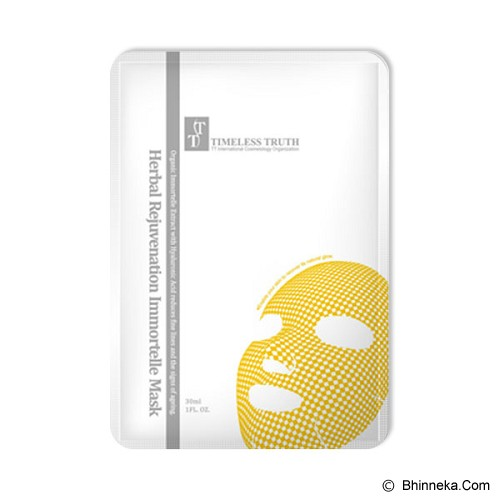 TIMELESS TRUTH Herbal Rejuvenation Immortelle Mask - Masker Wajah